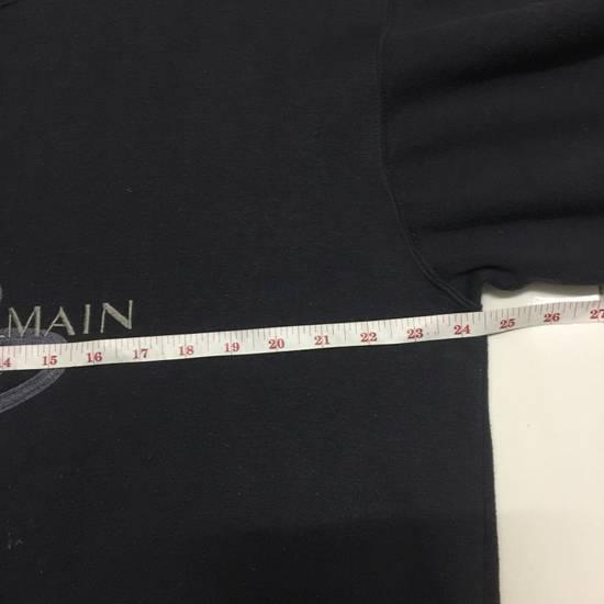 Balmain ⚡️Final Drop⚡️Pierre Balmain Embroidered Spellout Sweatshirt Size US L / EU 52-54 / 3 - 7