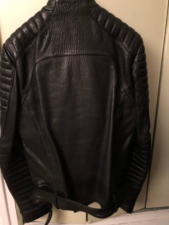 Balmain Classic Leather Jacket Size US M / EU 48-50 / 2 - 1