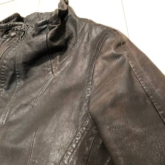 Julius Julius Goat Skin Leather Jacket Size US S / EU 44-46 / 1 - 8