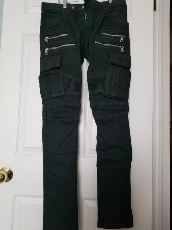 Balmain Balmain Cargo Moto Skinny Jeans Size US 28 / EU 44 - 1