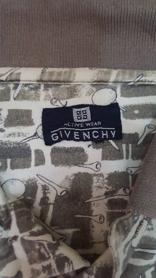 Givenchy Vintage Givenchy collar tshirt / full print / nice designed Size US XL / EU 56 / 4 - 1
