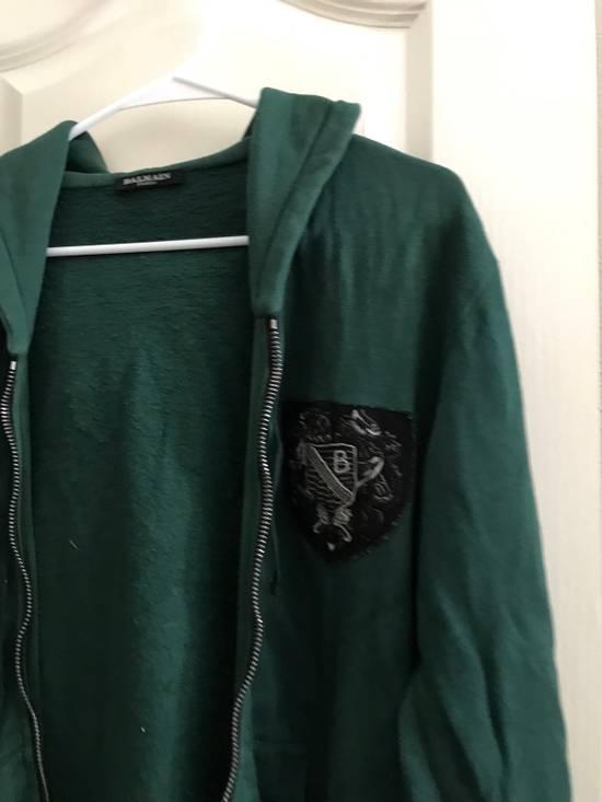 Balmain Decarnin Era SS2011 Badge Hoodie. Size US M / EU 48-50 / 2 - 2