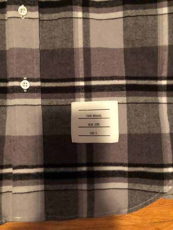 Thom Browne FW16 Shadowcheck Flannel Size US XS / EU 42 / 0 - 1