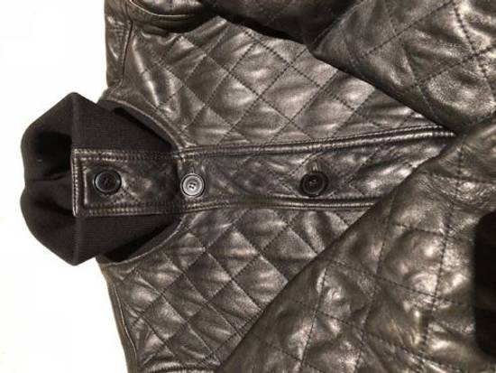 Givenchy Men's Dolce & Gabanna Quilted Leather Bomber Jacket Size 48 Size US M / EU 48-50 / 2 - 2