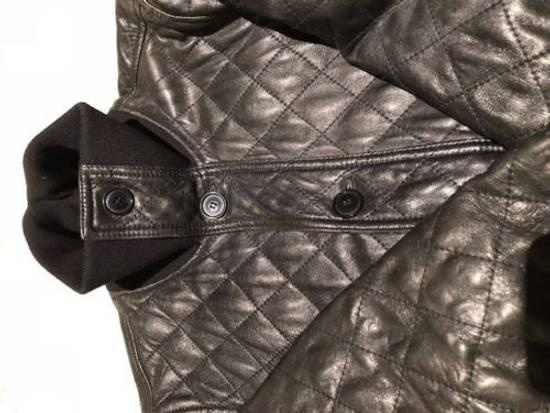 Givenchy Men's Dolce & Gabanna Quilted Leather Bomber Jacket Size 48 Size US M / EU 48-50 / 2 - 2