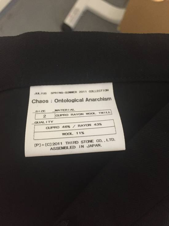 Julius SS11 Cu/Ra/Wo Long Inseam Trousers Size US 31 - 8