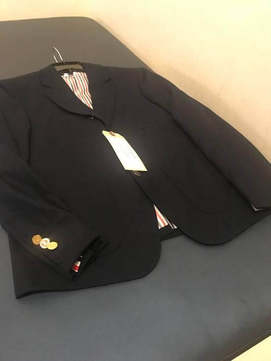 Thom Browne 00/0/1 Cashmere Patch Pocket Sack With Embroidery Size US XXS / EU 40 - 9