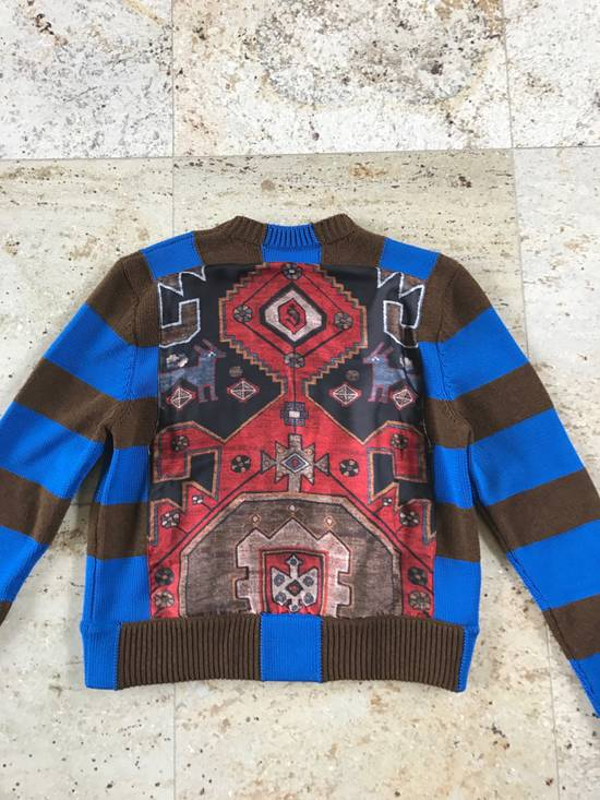 Givenchy Runway Printed Knit Sweater Size US XS / EU 42 / 0 - 14