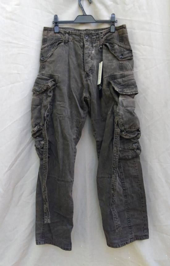 Julius Green Denim Gas Mask Cargo Pants s/s 13 Size US 31