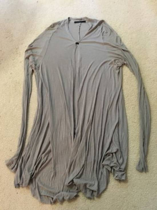 Julius light gray silk cardigan Size US M / EU 48-50 / 2