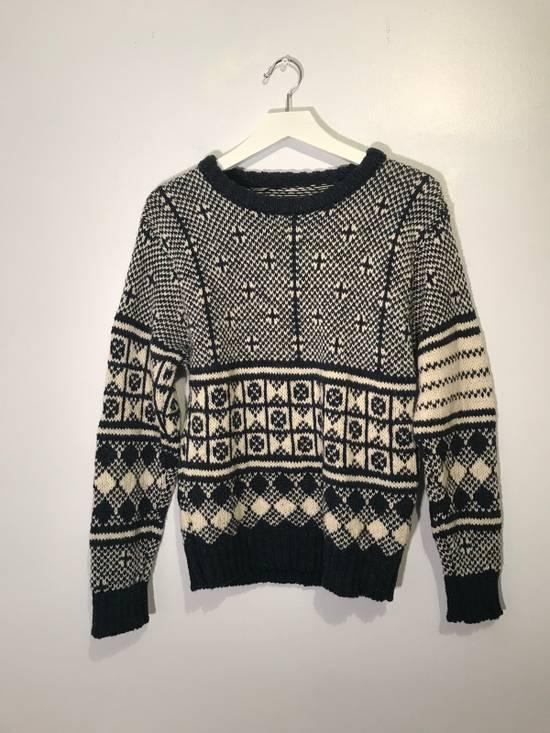 Thom Browne Jacquard-Knit Wool and Mohair-Blend Fairisle Sweater Size US M / EU 48-50 / 2