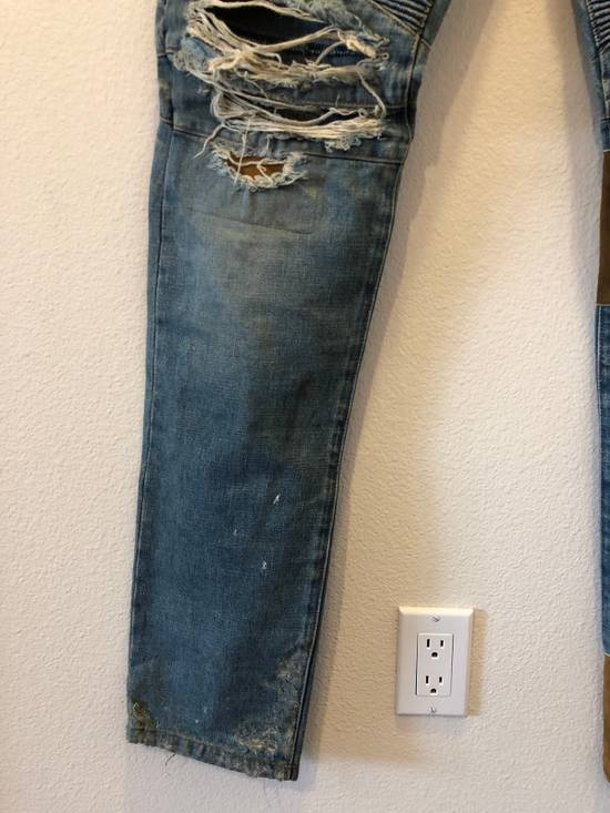 Balmain Patchwork Jeans Size US 30 / EU 46 - 4