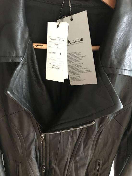 Julius Julius Lamb Biker Jacket Size US S / EU 44-46 / 1 - 4