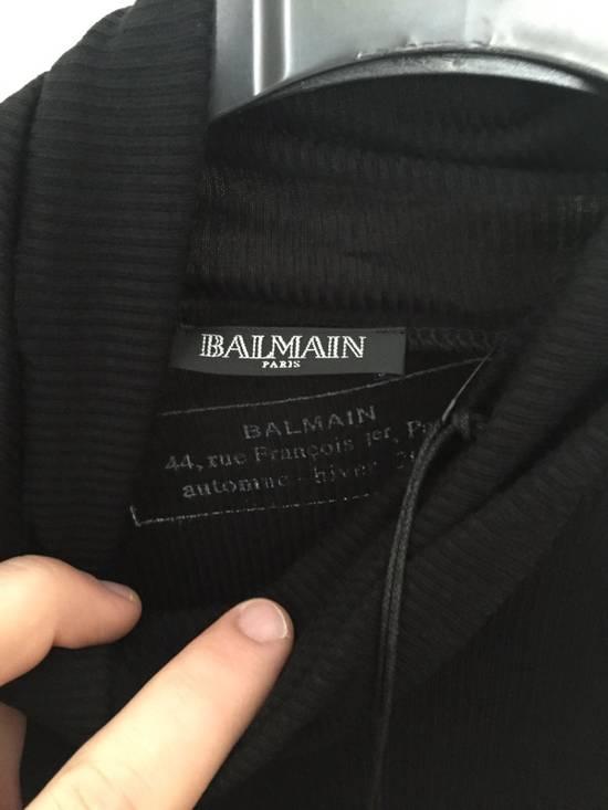 Balmain Micro Ribbed Roller Neck L/S Tee Size US M / EU 48-50 / 2 - 2