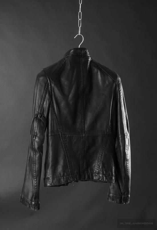 Julius = last drop = 2008SS ram leather jacket Size US M / EU 48-50 / 2 - 3