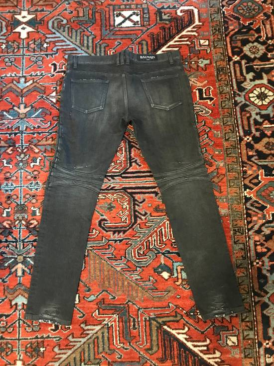 Balmain Biker Jeans Size US 34 / EU 50 - 1