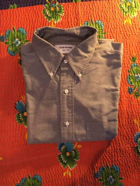 Thom Browne Thom Browne Grey Stripe Shirt Size US XL / EU 56 / 4 - 1