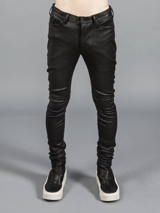 Julius Deerskin Leather Biker Pants Size US 30 / EU 46