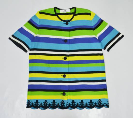 Givenchy Givenchy Shirt Givenchy T Shirt Givenchy Vintage Button Down Multicolor Striped Shirt Vintage Givenchy Glamour Made in Japan Womens Size 44 Size US M / EU 48-50 / 2 - 3