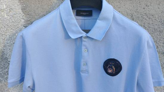 Givenchy Givenchy Baby Blue Rottweiler Patch Slim Fit Polo Shirt T-shirt size XXL (L) Size US L / EU 52-54 / 3 - 2