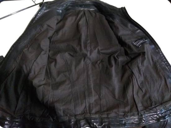 Julius Jut Neck Leather Jacket s/s08 Size US M / EU 48-50 / 2 - 5