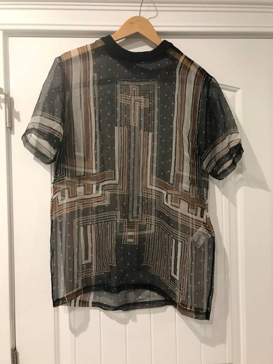 Givenchy Brand New Organza T Shirt With Zipper Size US M / EU 48-50 / 2 - 1