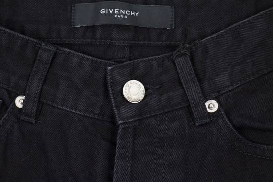 Givenchy Black Cotton Denim Jeans Pants Size US 32 / EU 48 - 4