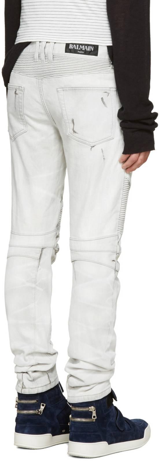 Balmain NWT, THE BEST! Biker Jeans (WAS $1650) - RUNS SMALLER Size US 36 / EU 52 - 3