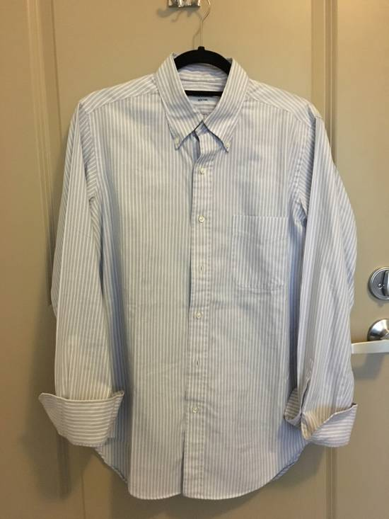 Thom Browne Striped Button Up Size US L / EU 52-54 / 3 - 3