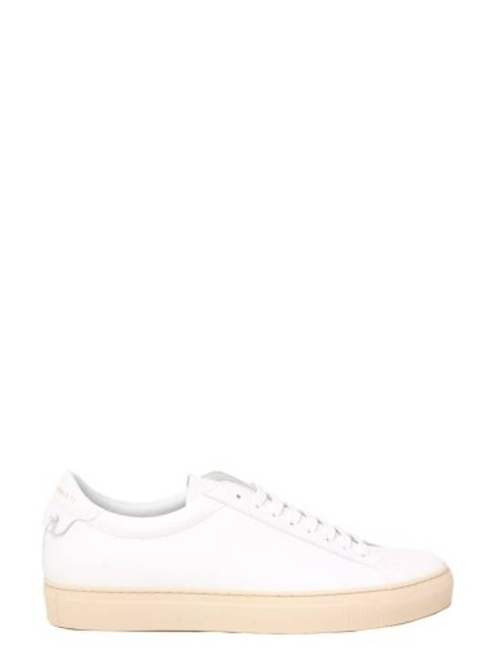 Givenchy Paris White Leather Sneakers Size US 12 / EU 45 - 2