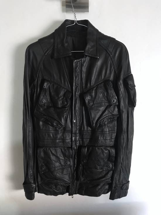 Julius LAST DROP! Julius GASMASK Leather Jacket Size US S / EU 44-46 / 1 - 1