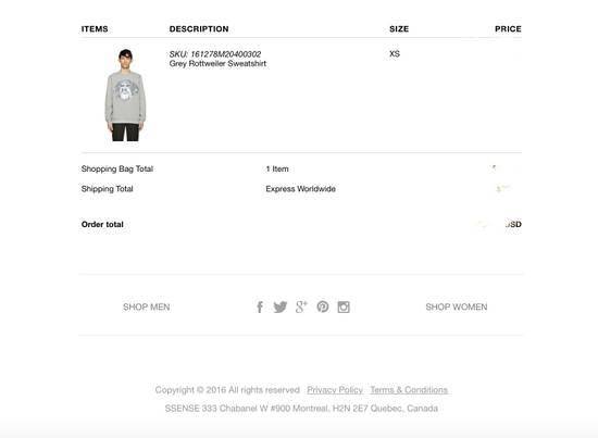 Givenchy Oversized Wool And Cotton Grey Rottweiler Sweatshirt Size US XS / EU 42 / 0 - 2