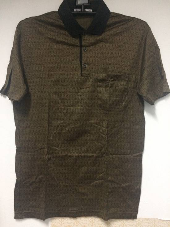 Givenchy Rare Vintage Monsieur by Givenchy Pocket Polo Shirt Italian Top Designer MEDIUM Made in Italy. Size US M / EU 48-50 / 2