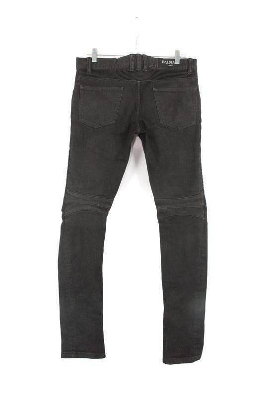 Balmain Balmain Black Washed Denim Jeans Size US 30 / EU 46 - 1