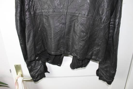 Julius 11aw halo asymmetrical leather jacket Size US M / EU 48-50 / 2 - 5