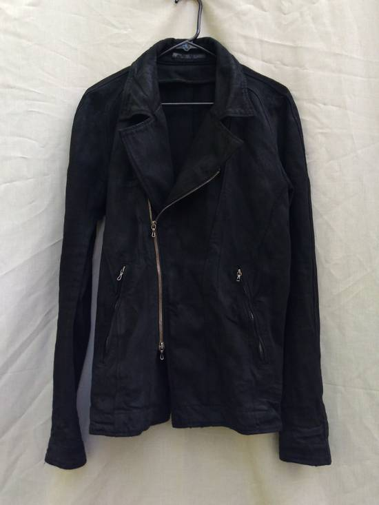 Julius Black Denim Moto Jacket f/w10 Size US L / EU 52-54 / 3 - 1