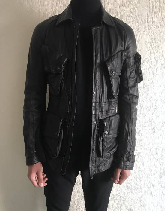 Julius LAST DROP! Julius GASMASK Leather Jacket Size US S / EU 44-46 / 1 - 8