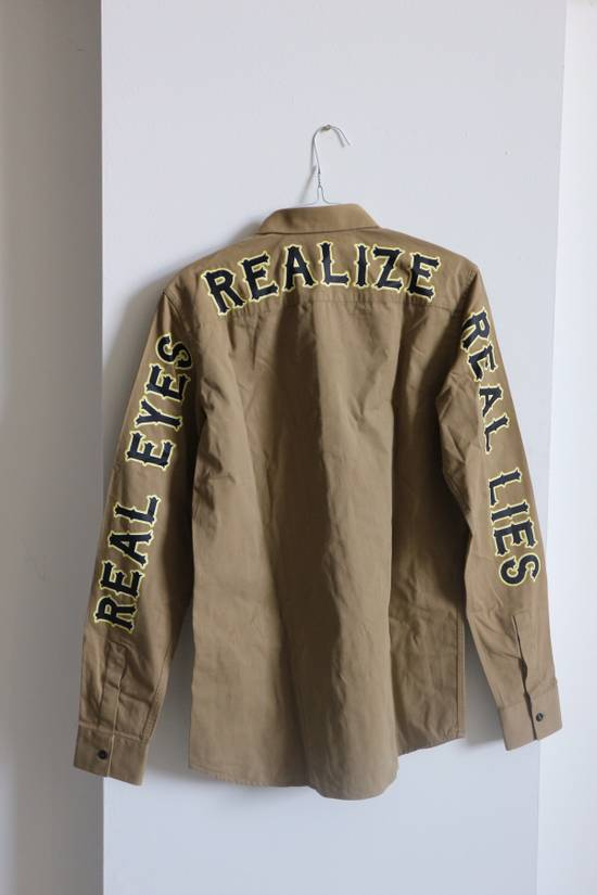 "Givenchy ""Real Eyes Realize Real Lies"" Slogan Shirt Size US S / EU 44-46 / 1 - 4"