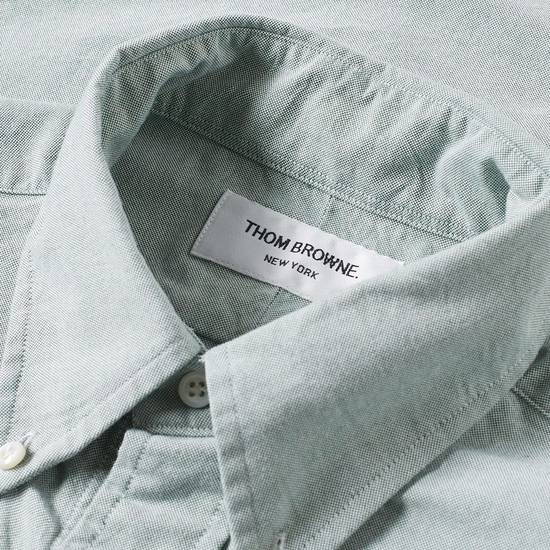 Thom Browne Green Button Down Oxford (Originally $600+) Size US M / EU 48-50 / 2