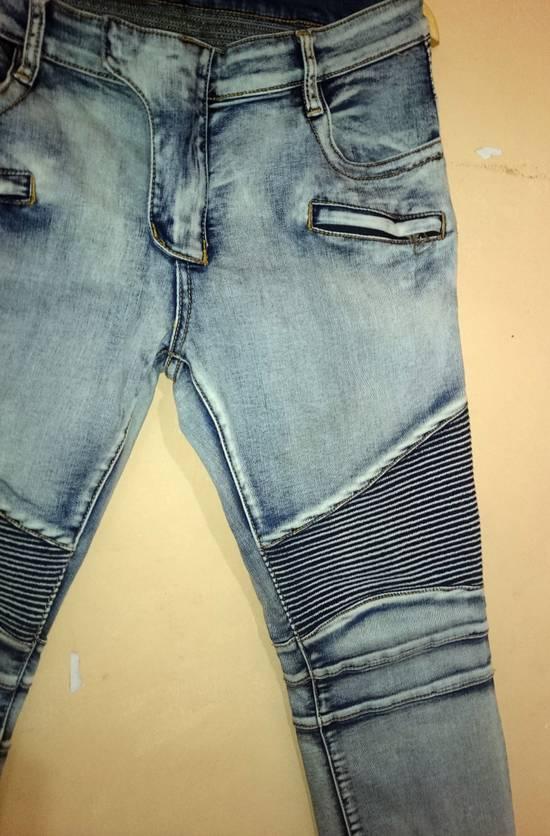 Balmain Balmain Biker Jeans Not Prada Burberry Hermes Gucci Rick Owens Issey miyake commes des Garcons a.p.c acne momotaro Size US 32 / EU 48 - 1
