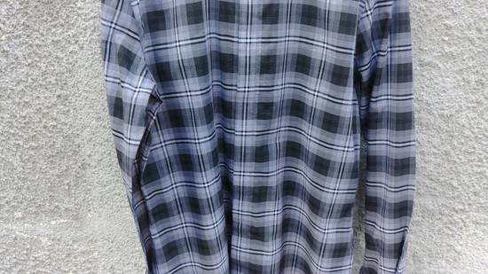 Givenchy $520 Givenchy Star Checked Rottweiler Shark Slim Fit Shirt size 44 (XL) Size US XL / EU 56 / 4 - 8