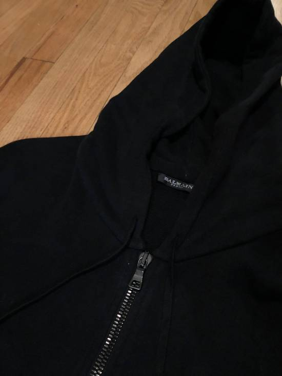 Balmain Balmain Sweatshirt Black Zip Up Size US L / EU 52-54 / 3 - 3