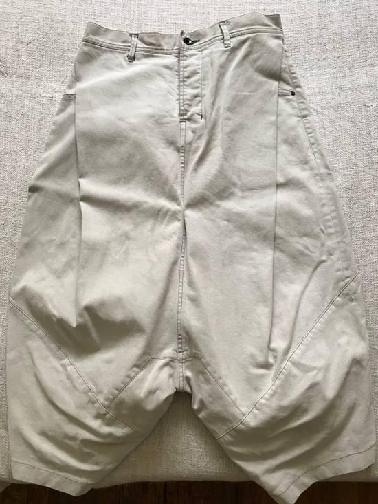 Julius AW14 painted low crotch denim cropped pants Size US 32 / EU 48