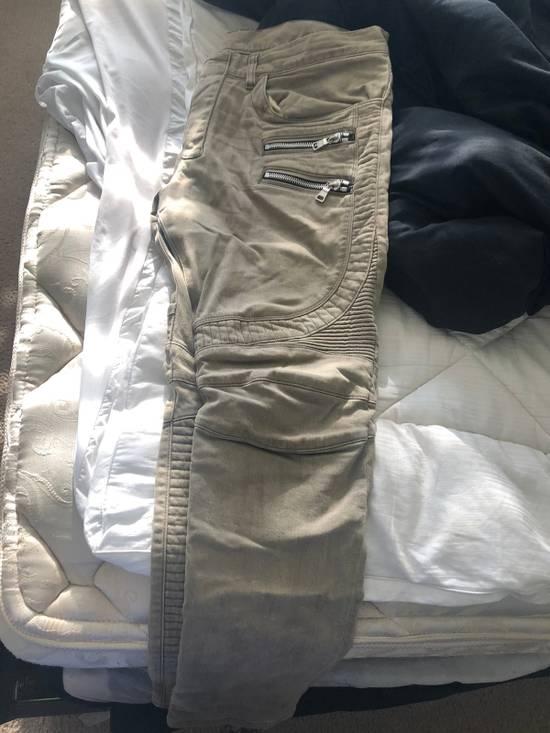 Balmain Balmain Khaki Jeans Size US 36 / EU 52 - 1