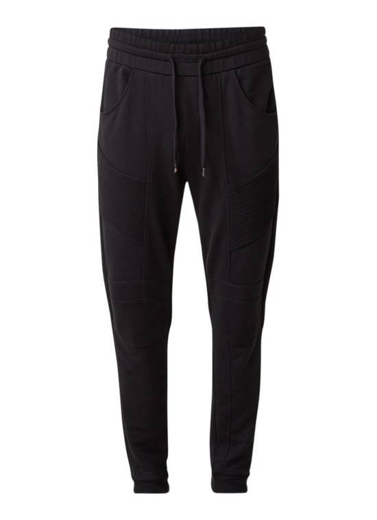 Balmain PIERRE BALMAIN Sweatpants biker black size 50 Size US 34 / EU 50