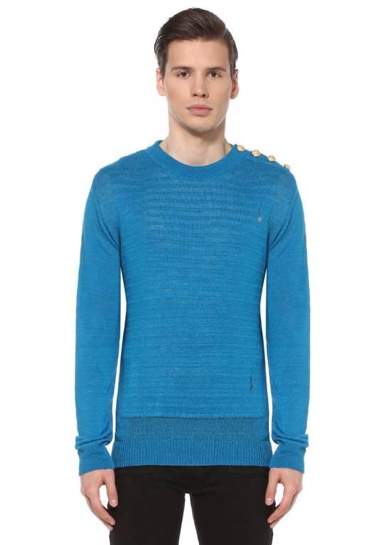 Balmain Turqouise Sweater Size US M / EU 48-50 / 2