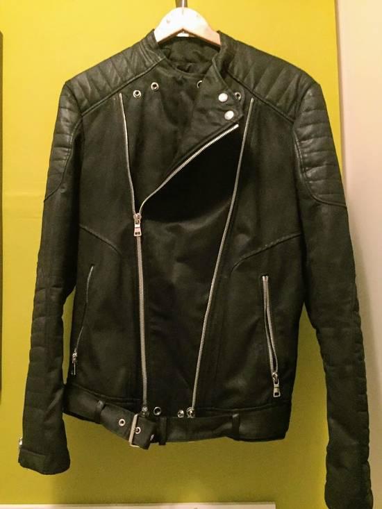 Balmain Balmain Waxed cotton moto jacket Size US M / EU 48-50 / 2 - 6
