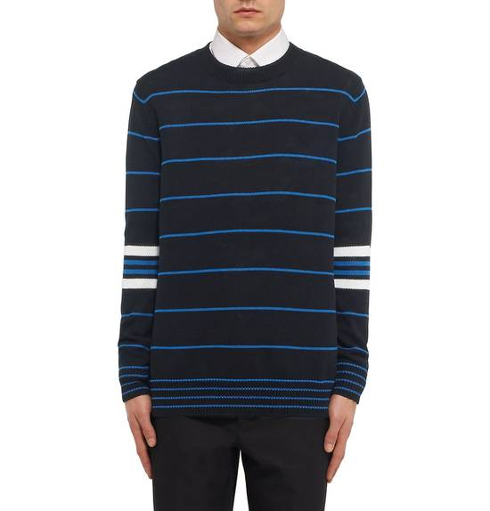 Givenchy GIVENCHY OVERSIZED STRIPED KNITTED COTTON SWEATER by Riccardo Tisci Size US L / EU 52-54 / 3 - 9