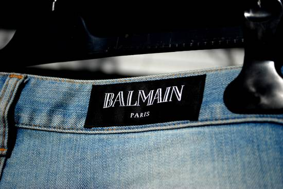 Balmain Destroyed Jeans Size US 33 - 9