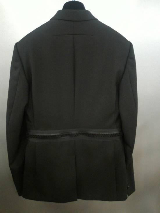 Givenchy 46-48 Zipped Blazer Mohair & Wool Jacket Size US M / EU 48-50 / 2 - 11